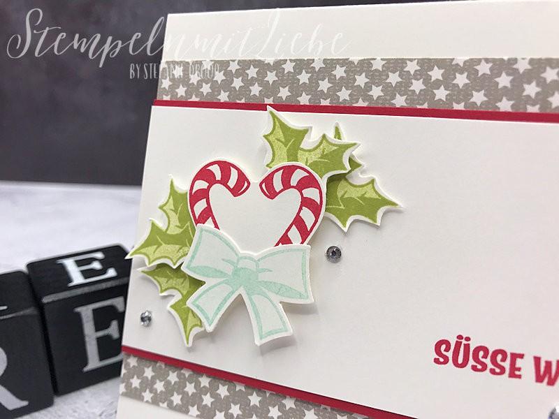 Süße Weihnachtsgrüße.Süße Weihnachtsgrüße In Granit Stampin Up Stempeln Mit Liebe