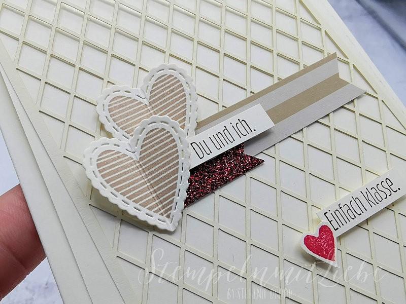 Rustikale Valentinskarten