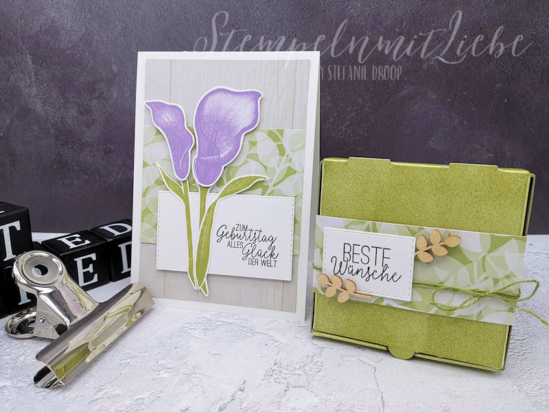 Frühlingshaftes Geburtstagsse - Stempeln mit Liebe (1)