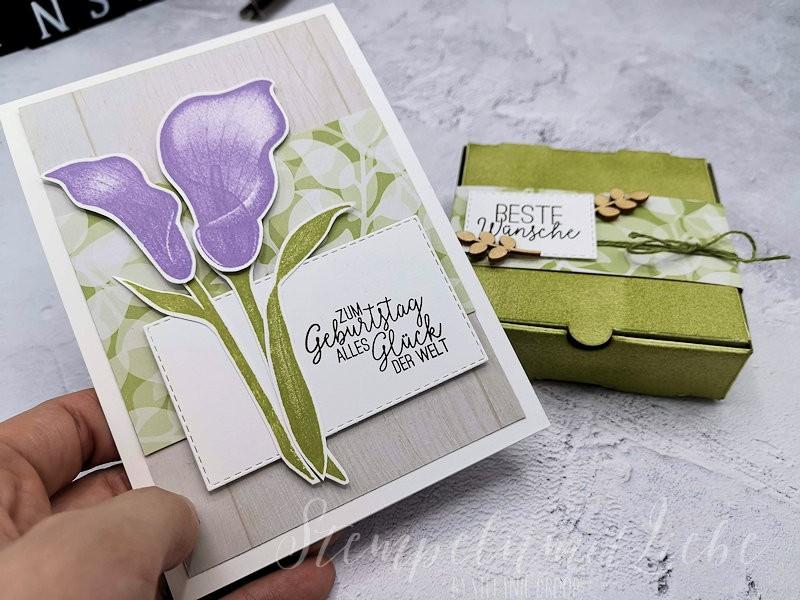 Frühlingshaftes Geburtstagsset
