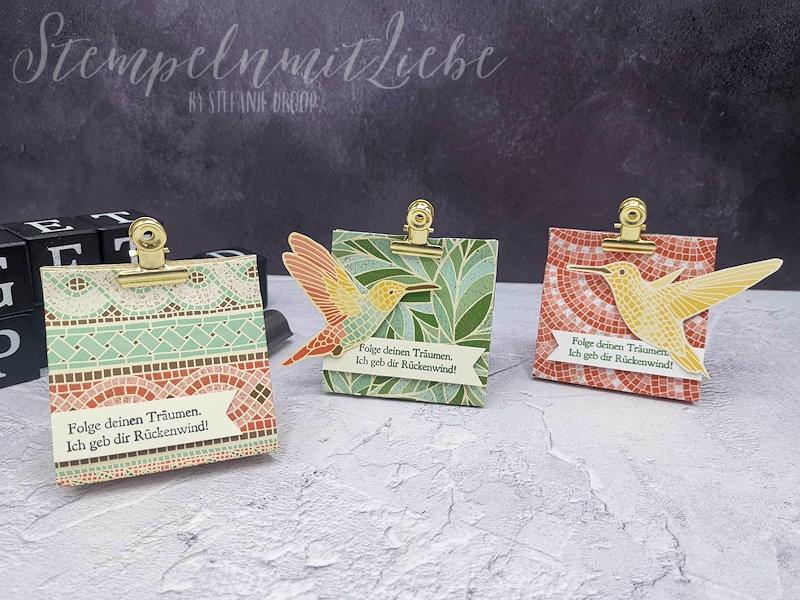 Kleine Tüten mit DSP Märchenhaftes Mosaik