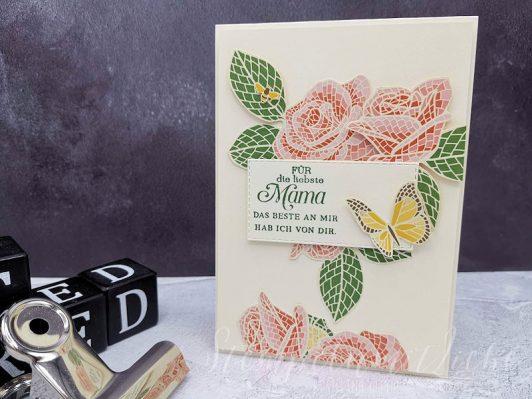 Muttertag mit Märchenhaftes Mosaik