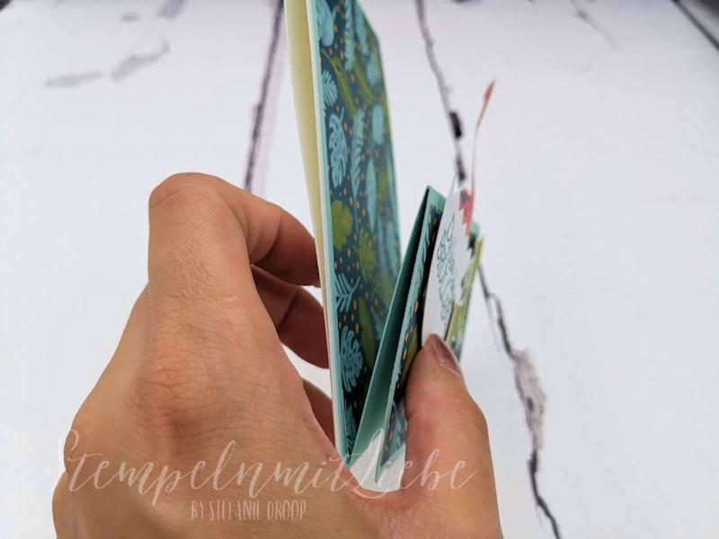 Double Easel Fold Karte