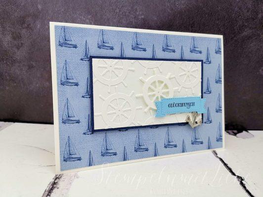Geburtstagskarte Setz die Segel