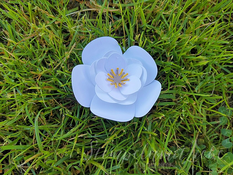 Anleitung: Magnolienblüte