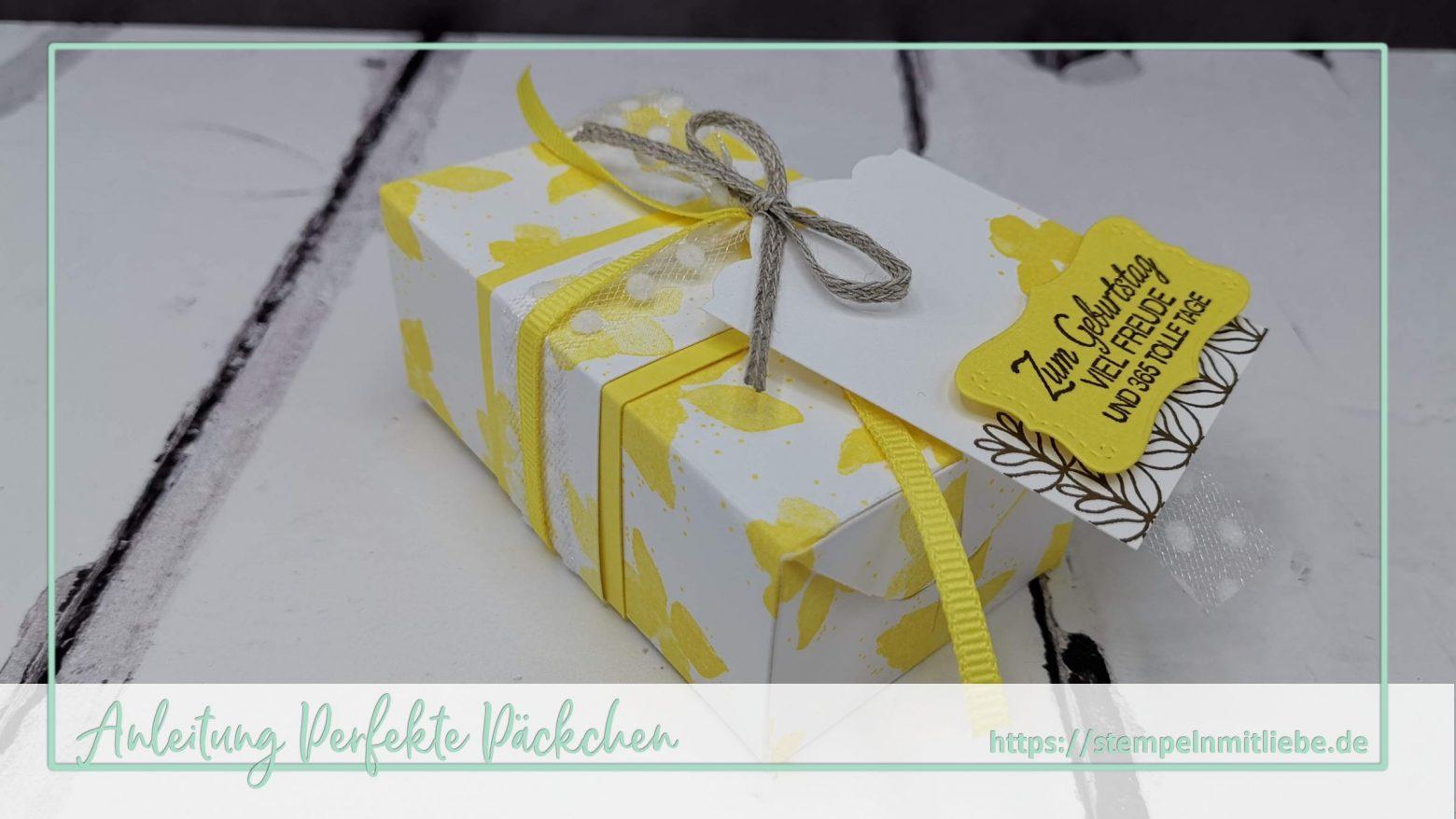 Videoanleitung: Perfekte Päckchen in Ananas