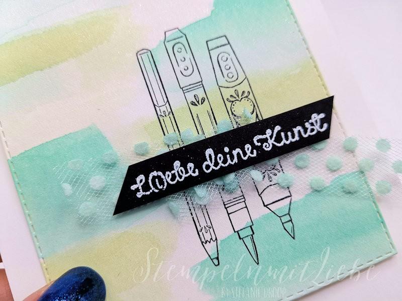 Liebe deine Kunst in Jade