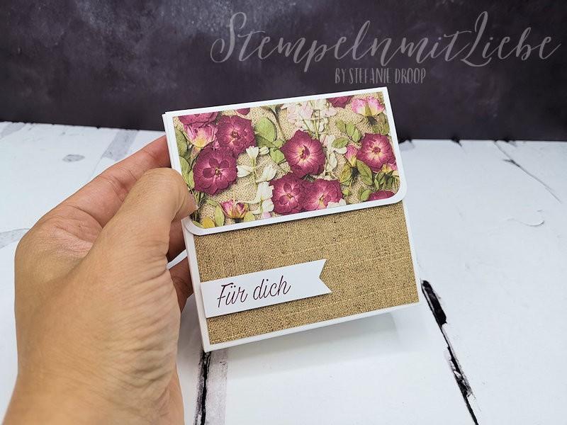 Anleitung: Kartenbox Blüten der Erinnerung