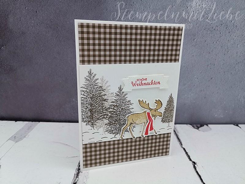 Schöne Weihnachten mit Elch
