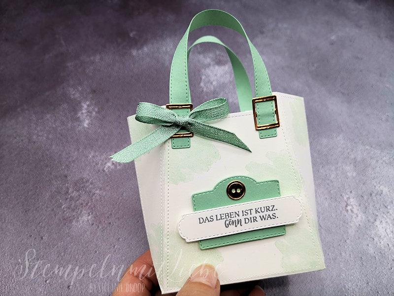 Tasche in zwei Designs mit den Stanzformen So Stilvoll