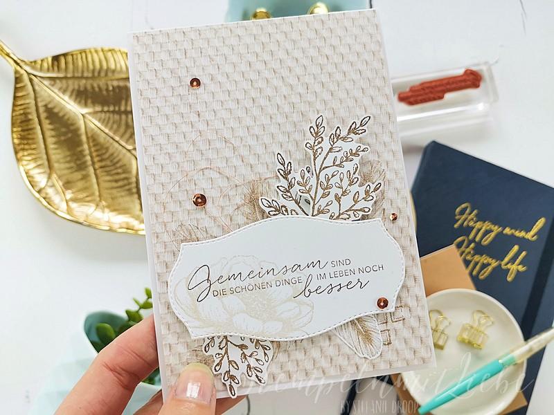 Gemeinsam ist besser - Hochzeitskarte