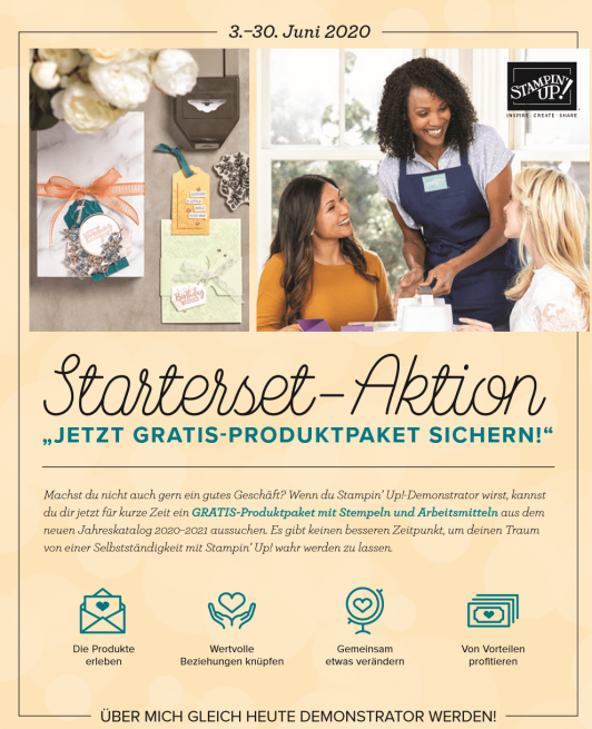 Starterset-Aktion zum Katalogstart