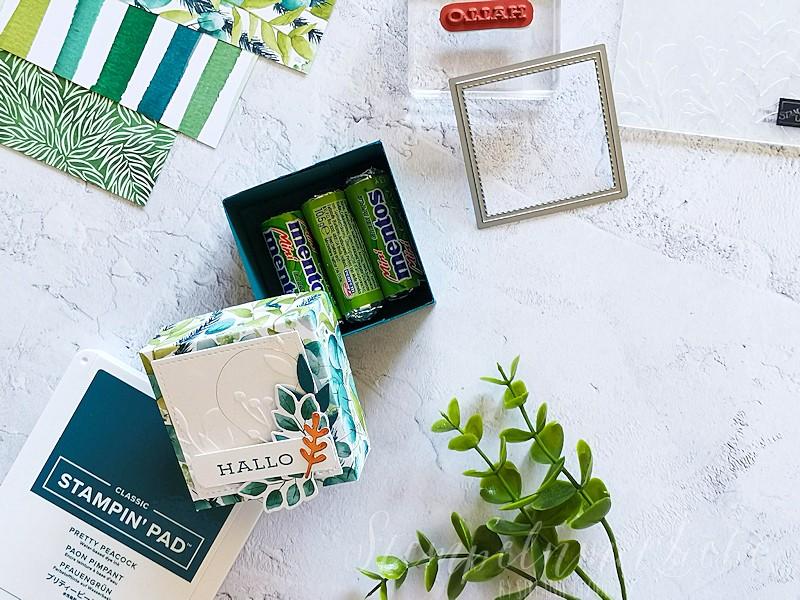 Verpackung Ewiges Grün
