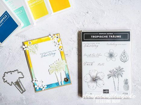 Geburtstag mit Tropische Träume