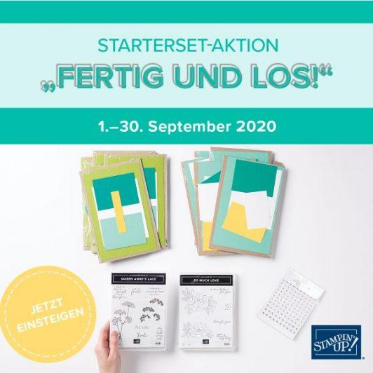 Starterset-Aktion im September!