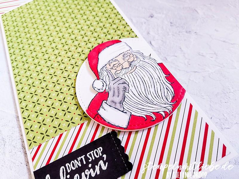 Don't stop believin' on Santa
