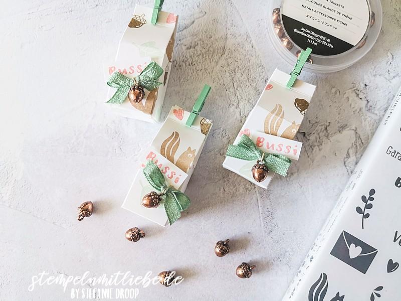 Herbstlicher Mini-Milchkarton - Banner Year