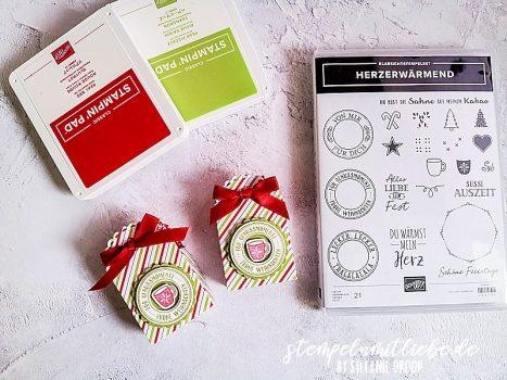 Mini-Geschenkschachtel Verpackung