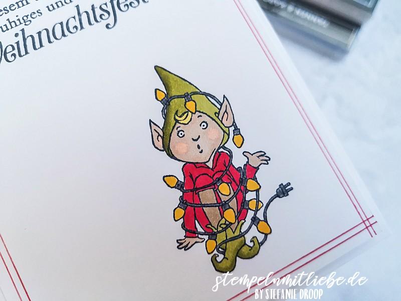 Weihnachtsgrüße zum turbulenten Jahr - Don't stop believin