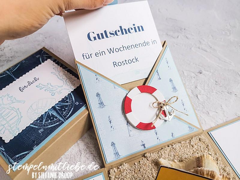 Explosionsbox als Gutschein nach Rostock