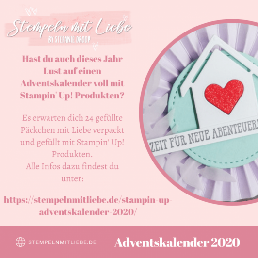 Stampin' Up Adventskalender 2020