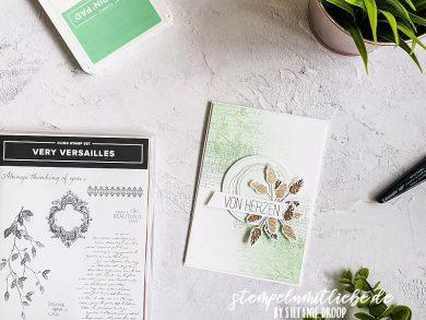 Von Herzen mit Very Versailles in Minzmakrone