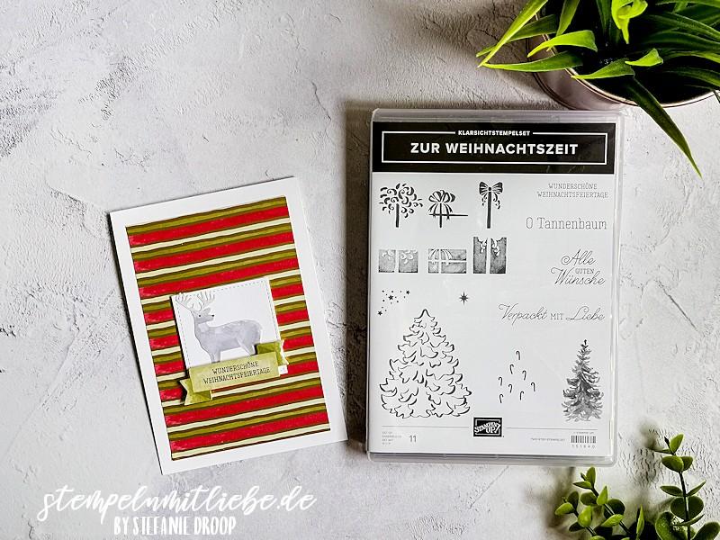 Wunderschöne Weihnachtsfeiertage - Stampin' Up - Produkt-Medley Zur Weihnachtszeit - Most wonderful Time