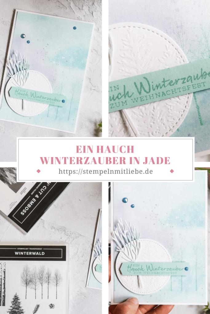 Ein Hauch Winterzauber in Jade - Schneeflockentraum - Stampin' Up! - Snowflake Splendor
