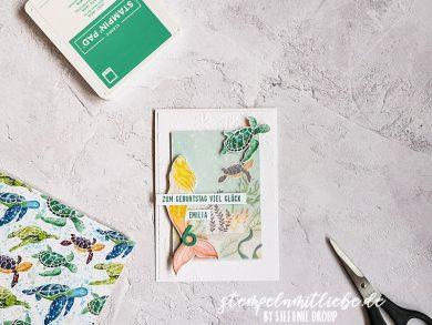 Meerjungfrauen Geburtstagskarte