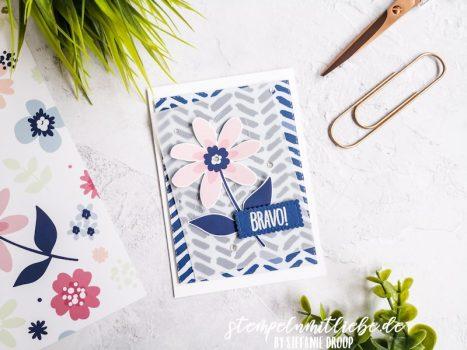 Bravo mit DSP Papierblüten