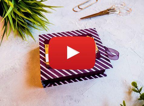 Video: Buchbox Verpackung für Schokolade