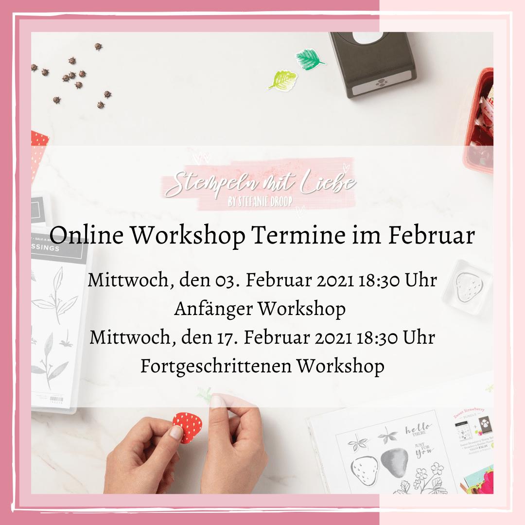 Materialpaket zum Online-Workshop Anfänger am 03.02.2021