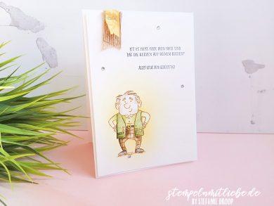 Geburtstagskarte für Opa