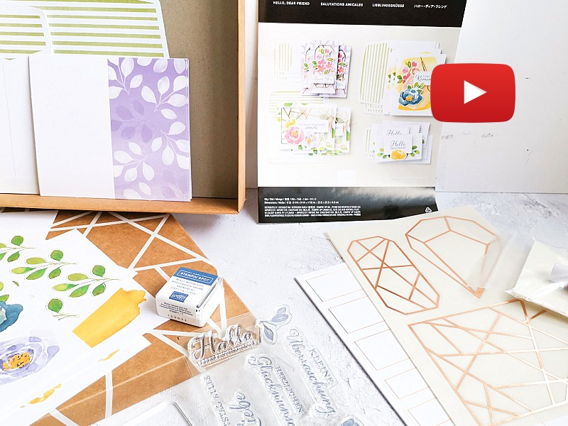 Video: Kartenset Lieblingsgrüsse