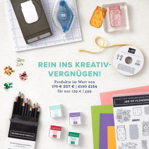Im Mai als Stampin' Up! Demonstrator/in einsteigen