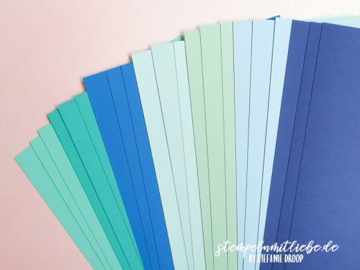 Farbpakete mit den Stampin' Up! Farben