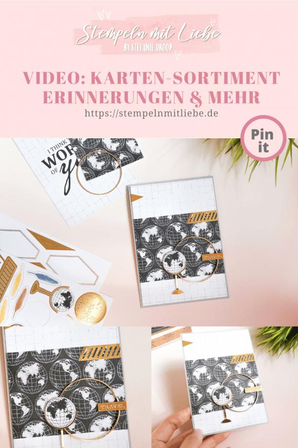 Karten-Sortiment Erinnerungen und Mehr - Stempeln mit Liebe - Stampin' Up! - Welt der Abenteuer