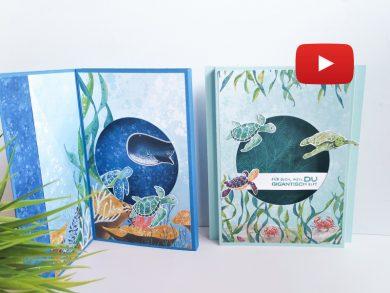 Video: Shadowbox Karten mit Fantastfisch
