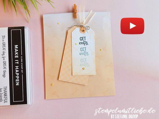 Video: Geschenktüten mit Ombréeffekt
