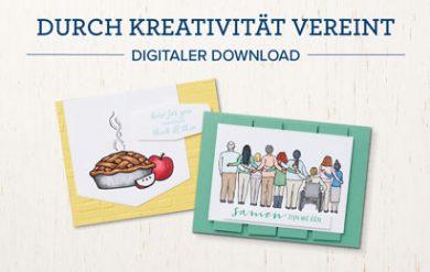 Durch Kreativität vereint - Digitaler Gratis Download