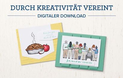 Durch Kreativität vereint – Digitaler Gratis Download