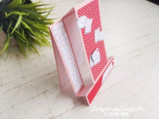 Besondere Kartenform mit Schneckenpost