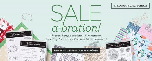 Sale-a-Bration 2021 August – September