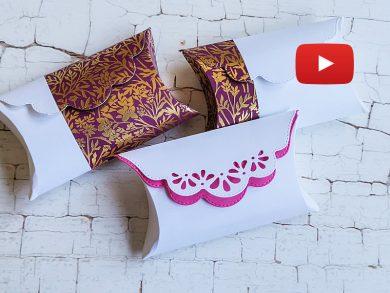 Video: Ideen mit Kreative Kissenschachtel