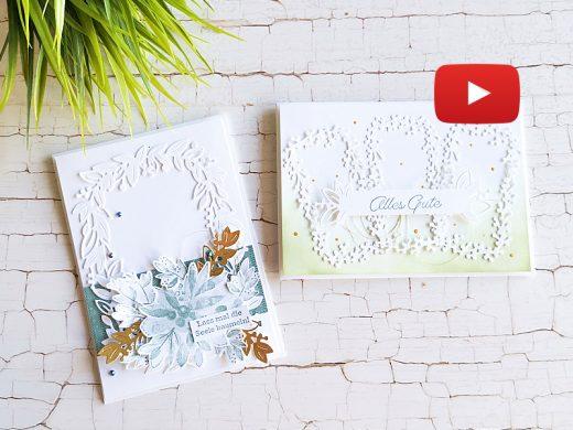 Video: Karten mit Produktreihe Garten Eden